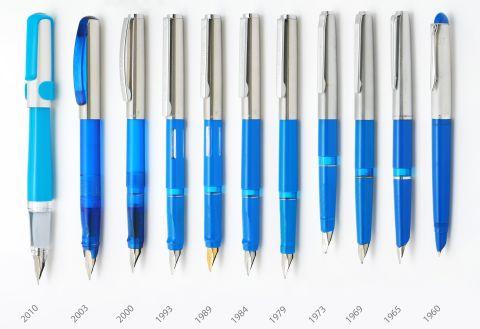 1960 PELIKANO Model 1 P25 small STEEL Nib size O for Fountain Pen GERMANY